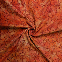 Anthology Cotton - Orange and Red Flowers- 1/4m