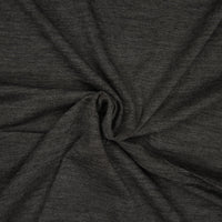 Superfine Merino Wool Jersey - Midweight - Heather Charcoal - 1/4m