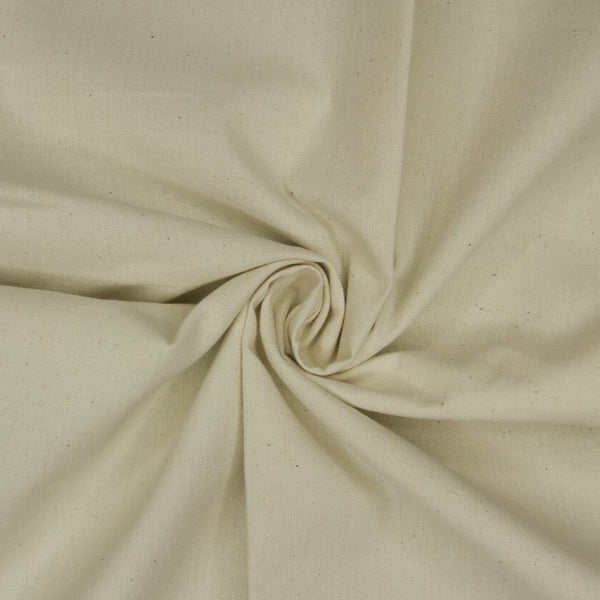 "Unbleached Cotton Muslin 63"" Wide"