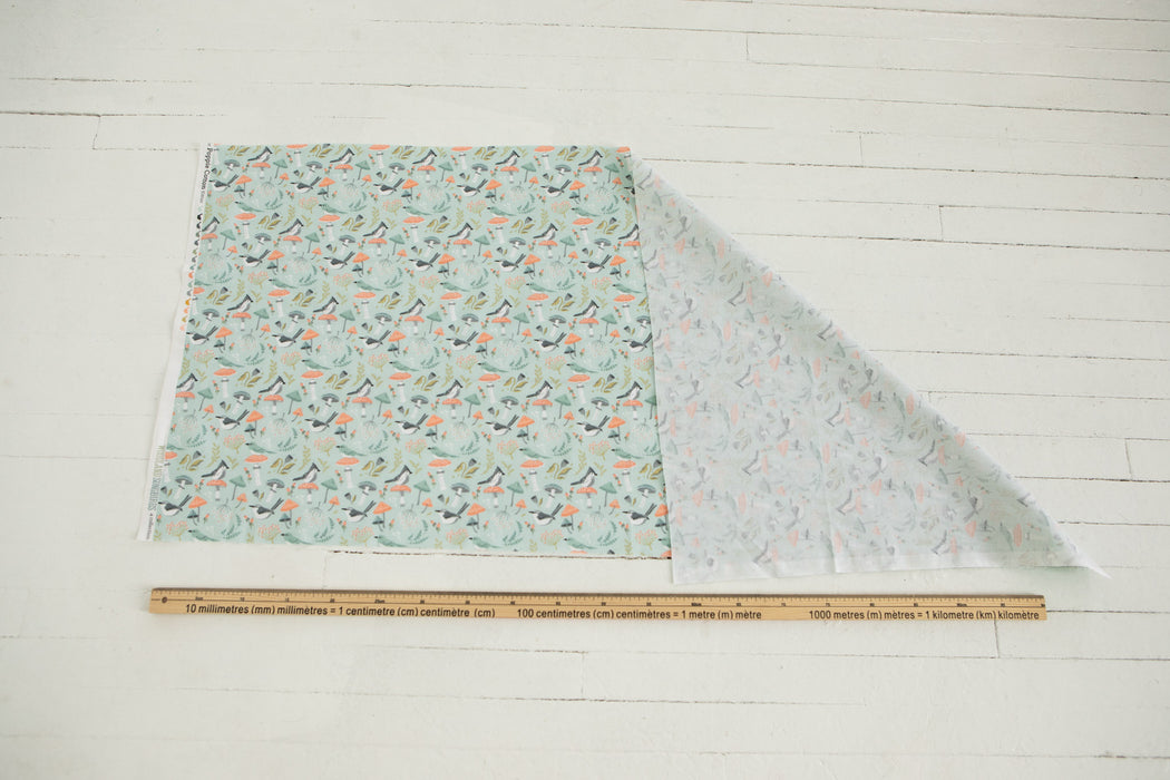 Quilting Cotton - Woodland Songbirds - 1/4m