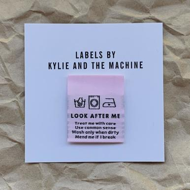 Woven Labels - LOOK AFTER ME - 8pk