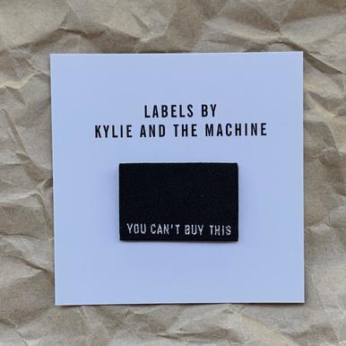 Woven Labels - YOU CAN'T BUY THIS - 8pk