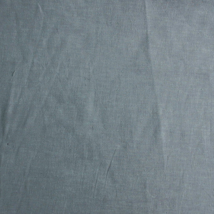 Hemp/Organic Cotton - Yarn-Dyed Solid - Light Blue - 1/4m