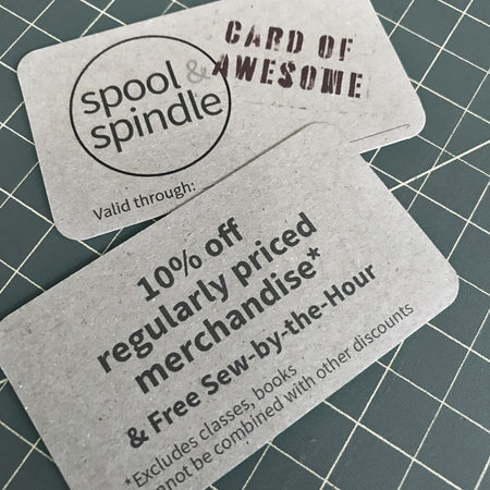 Card of Awesome - 1 Year Membership