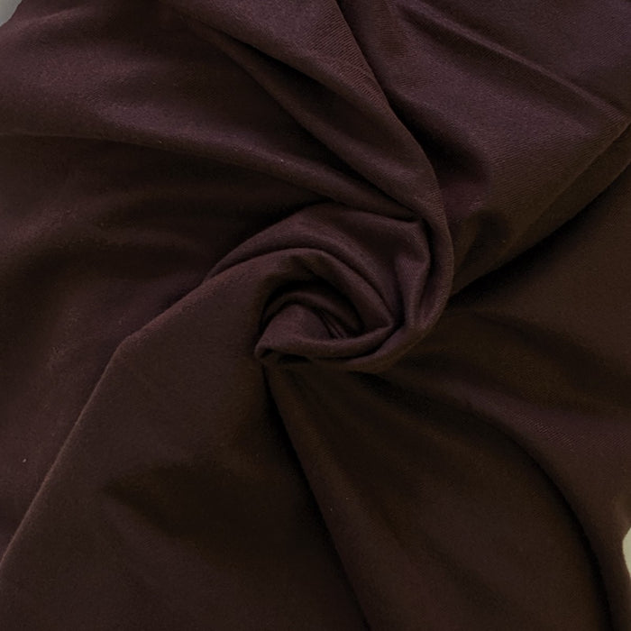 Cotton Tencel Brushed Twill - Chocolate- 1/4m