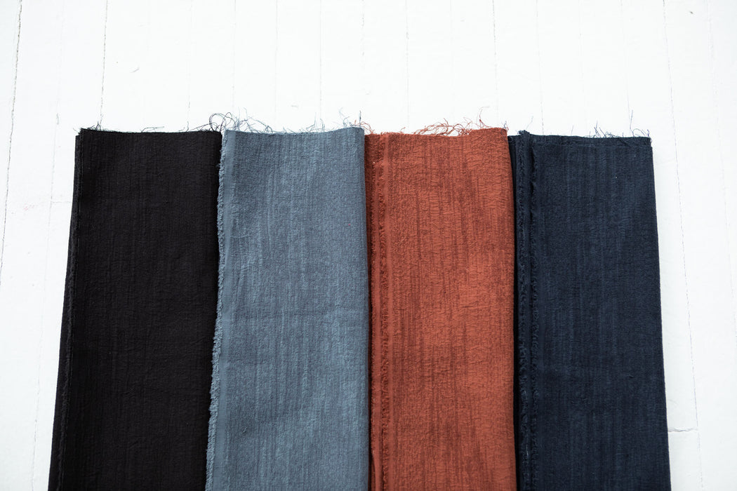 Diego - Cotton/Linen Jacquard - Steel - 1/4m