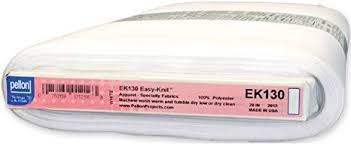 Pellon EK130 - Easy Knit Fusible Interfacing - 1/4m