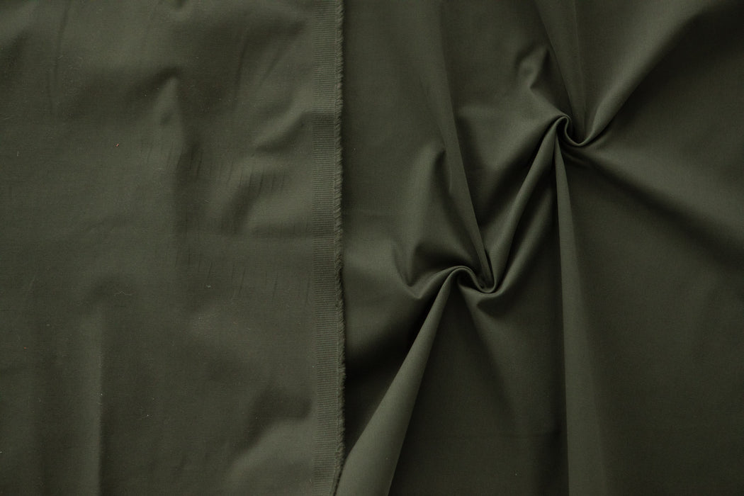 Fawn - Brushed Cotton/Spandex Sateen - Jungle - 1/4m