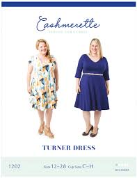 Cashmerette Turner Dress Printed Sewing Pattern