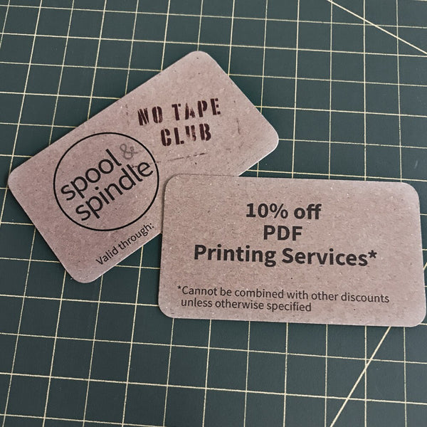 No Tape Club - 1 Year Membership