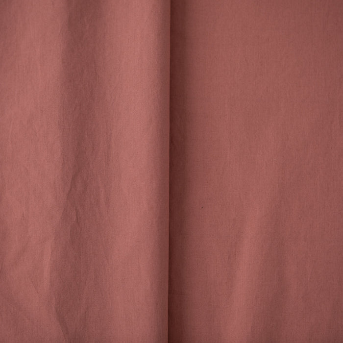 Washed Cotton - Poplin - Rosewood - 1/4m