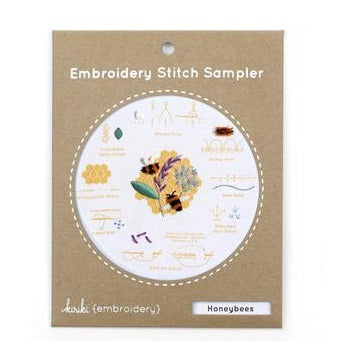 Stitch Sampler - Kiriki Press - Honeybees