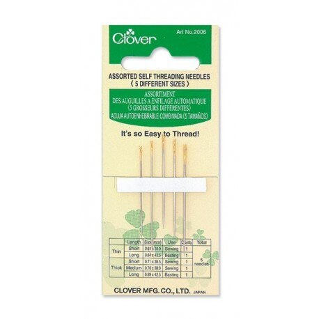 Clover - Self Threading Needles (Assorted)