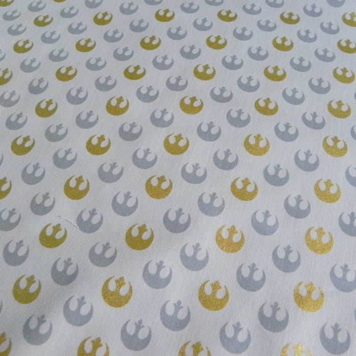 Star Wars - Rebel Starbird - Metallic Cotton - 1/4m