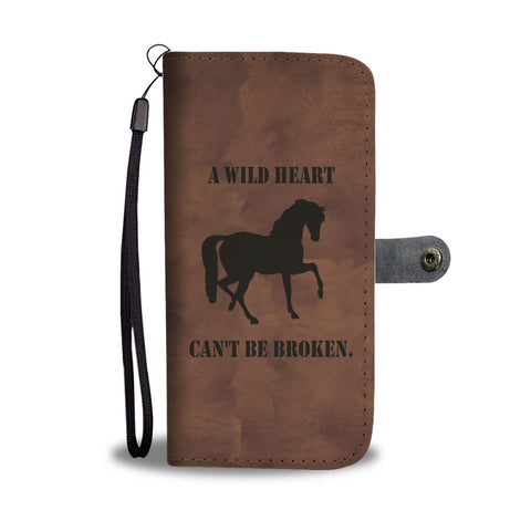 Wild Heart Wallet Case