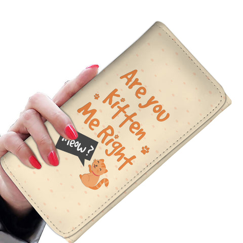 Are You Kitten Me Women's Wallet