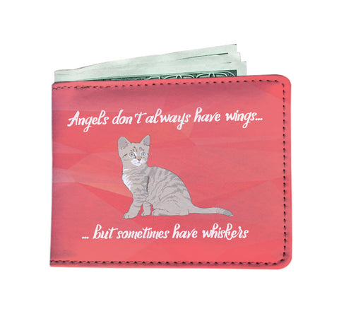 Angels Have Whiskers Men's Wallet