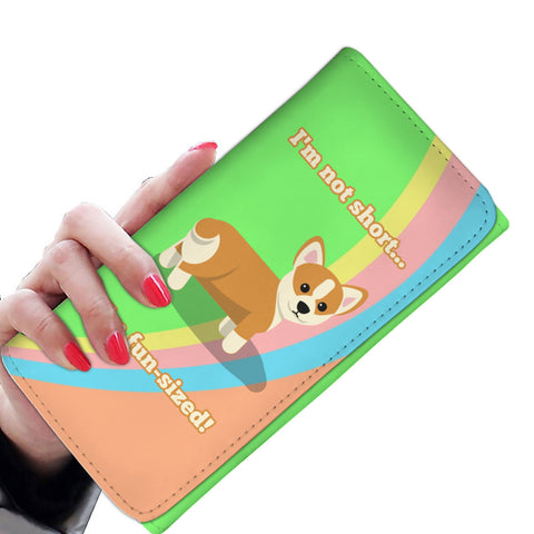 Fun-Sized Womens Wallet