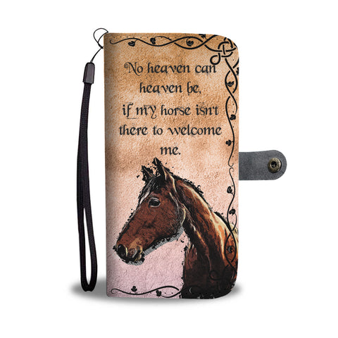 Horse Heaven Wallet Case
