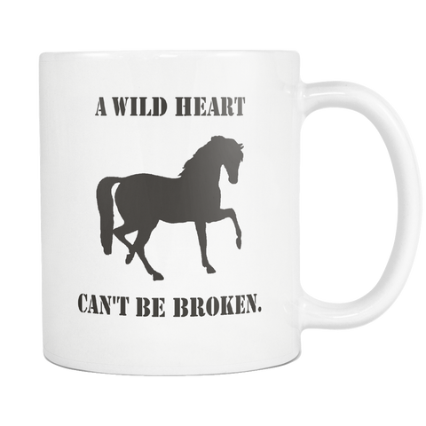 Wild Heart 11oz Coffee Mug