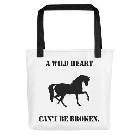 Wild Heart Tote Bag