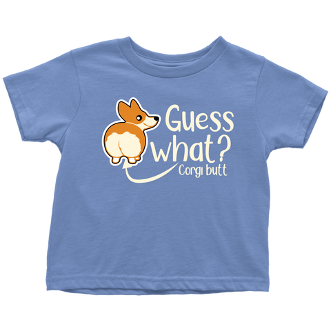 Corgi Butt Toddler Shirt