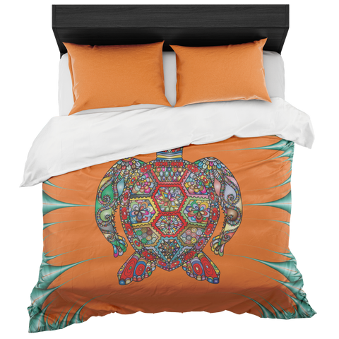 Psychedelic Sea Turtle Bedset