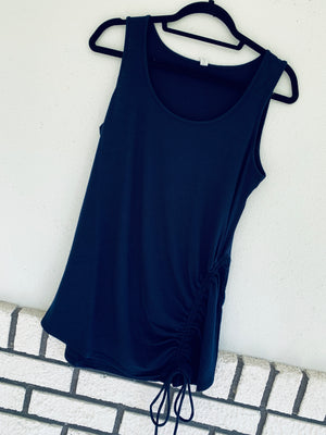 Sleeveless Tie Tank Top
