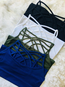 Criss Cross Basic Cami