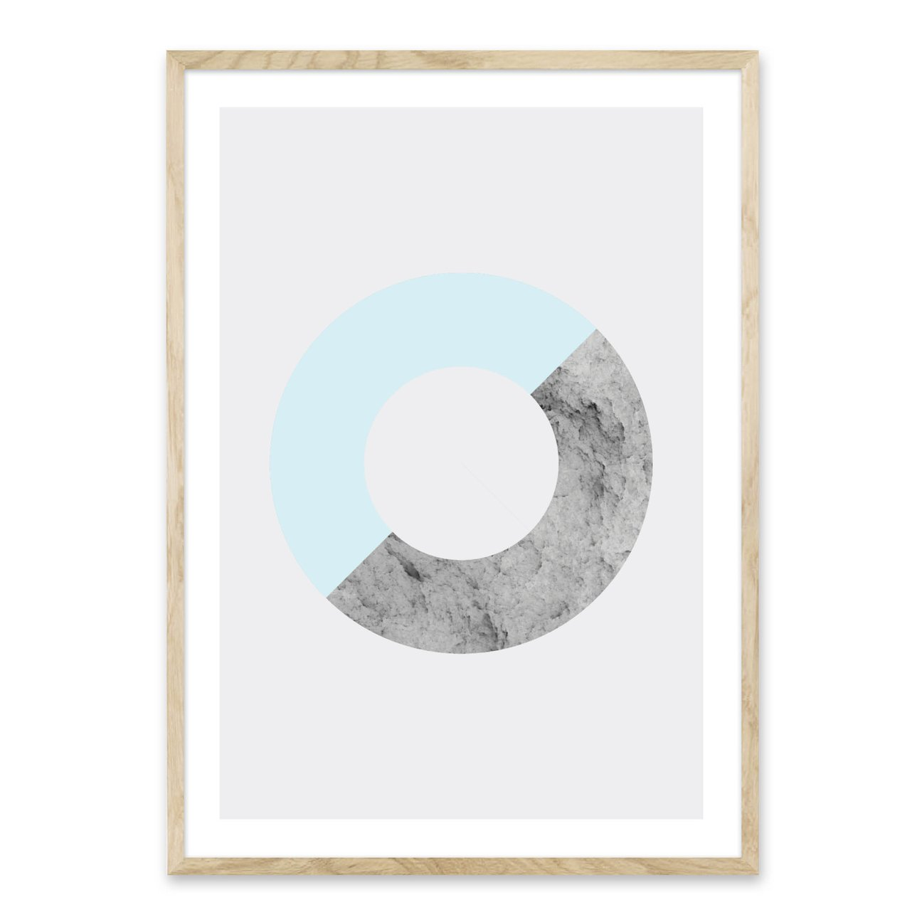 Abstract Circle - plakat