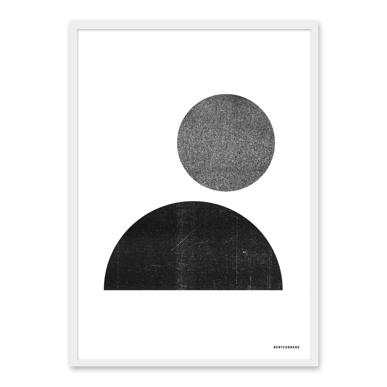 One and a half circle - plakat