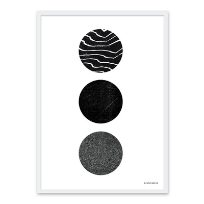 Three Circles - plakat