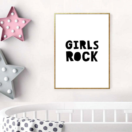 Girls Rock - plakat