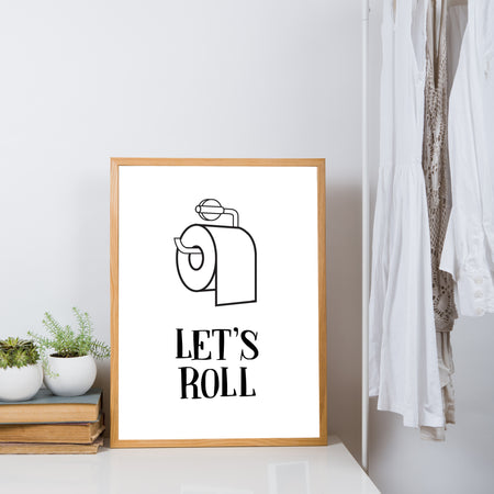 Let's roll - plakat