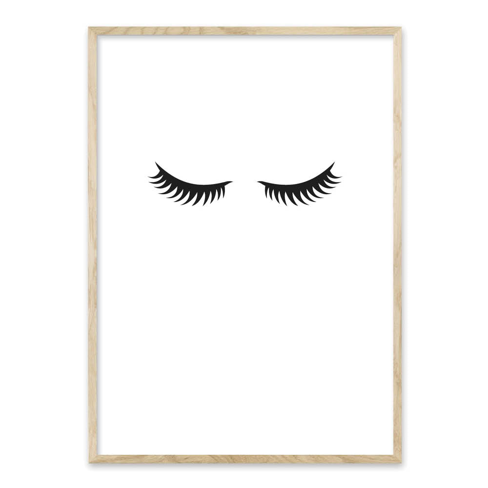 Eyelashes - plakat