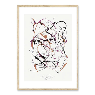 Soft lines no. 1 plakat