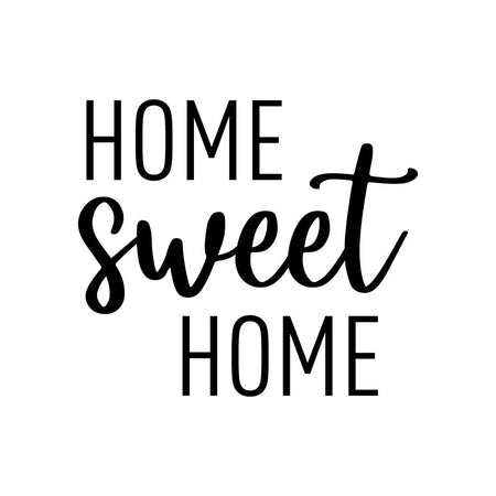 Home Sweet Home - wallsticker