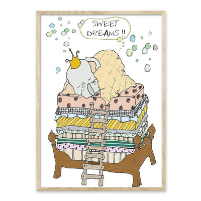 Sweet dreams - plakat
