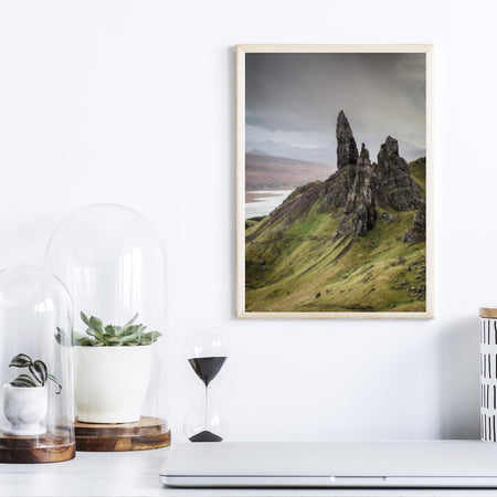 The Storr i Skotland plakat