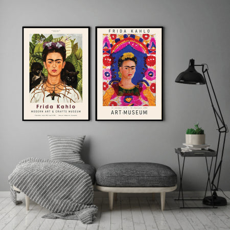 Frida Kahlo exhibition plakat