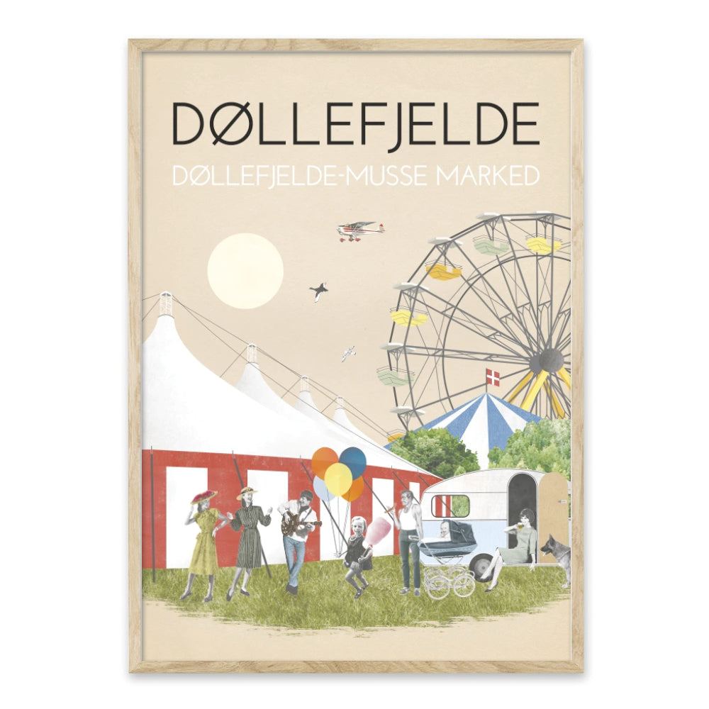 Døllefjelde-Musse Marked - plakat