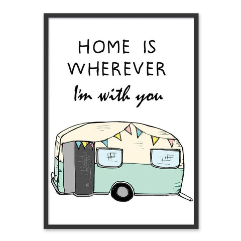 Home is.. - plakat