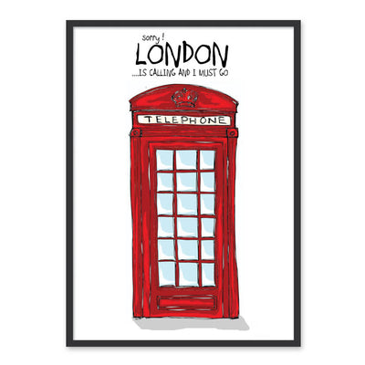 London is calling - Plakat