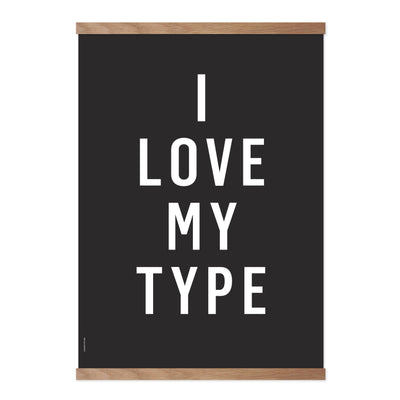 I Love My Type - Black