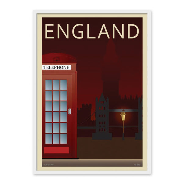 London England - Plakat