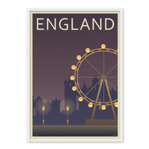 London Eye - Plakat