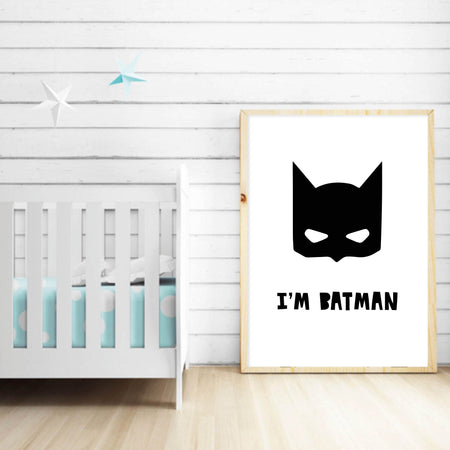 I'm Batman - plakat