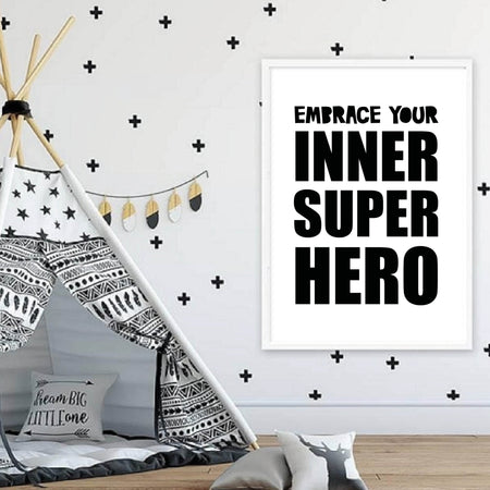 Embrace your inner Superhero - plakat