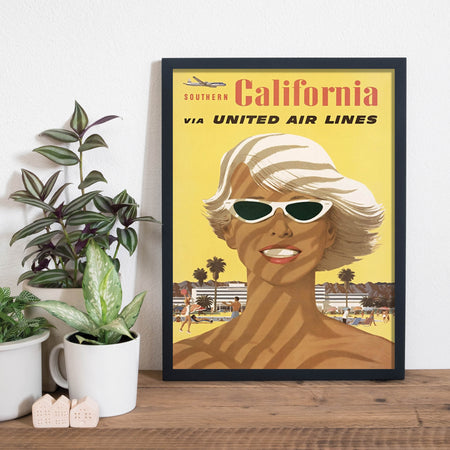 Californien - Plakat