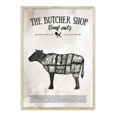 The Butcher shop - plakat